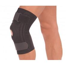 Бандаж на коленный сустав со спиральными ребрами жесткости Т8512