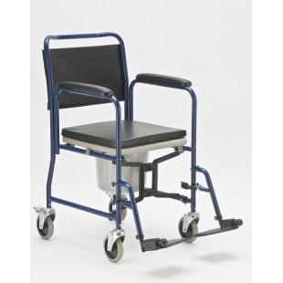 Кресло-каталка с туалетным устройством