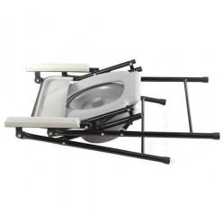 Кресло-туалет складной, нерегулируемый по высоте Фикс