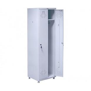 Шкаф для одежды медицинский двухсекционный ШК-05