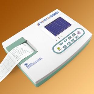 Цифровой одноканальный   электрокардиограф SENSITEC ECG-1001