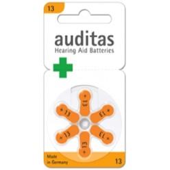 Батарейка для слуховых 13 Auditas